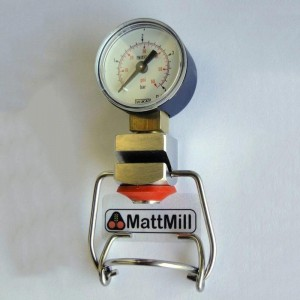 MattMill flip-top manometer