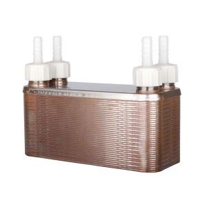 Nerezový výmenníkový chladič, 36 plátový