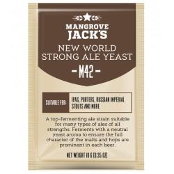 Mangrove Jack's Craft Series M42 New World Strong Ale kvasinky (BBD 2/21)